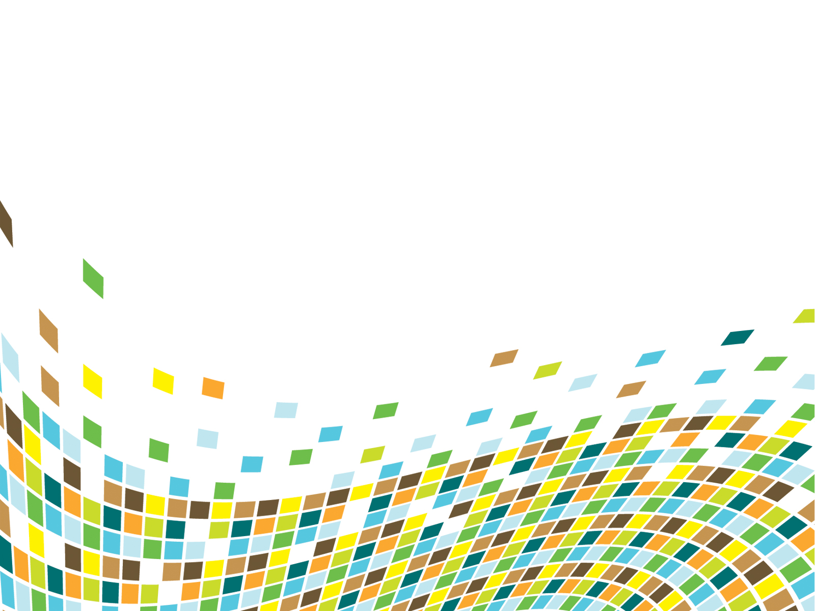 Color Cubes Perspective PPT Backgrounds