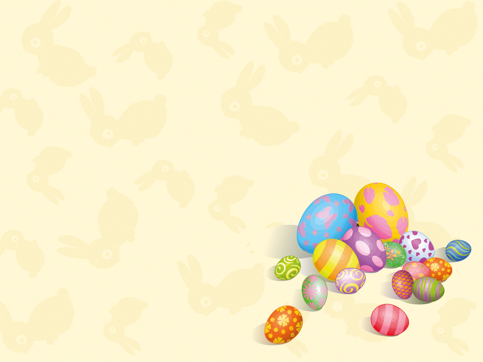 Colorful eggs Backgrounds