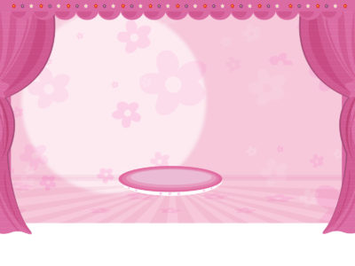 Femenine Feature Scenery PPT Backgrounds