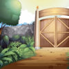 Gate and door nature ppt backgrounds