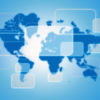 Global business world map backgrounds