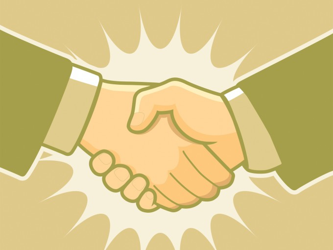 Handshake for Business PPT Backgrounds
