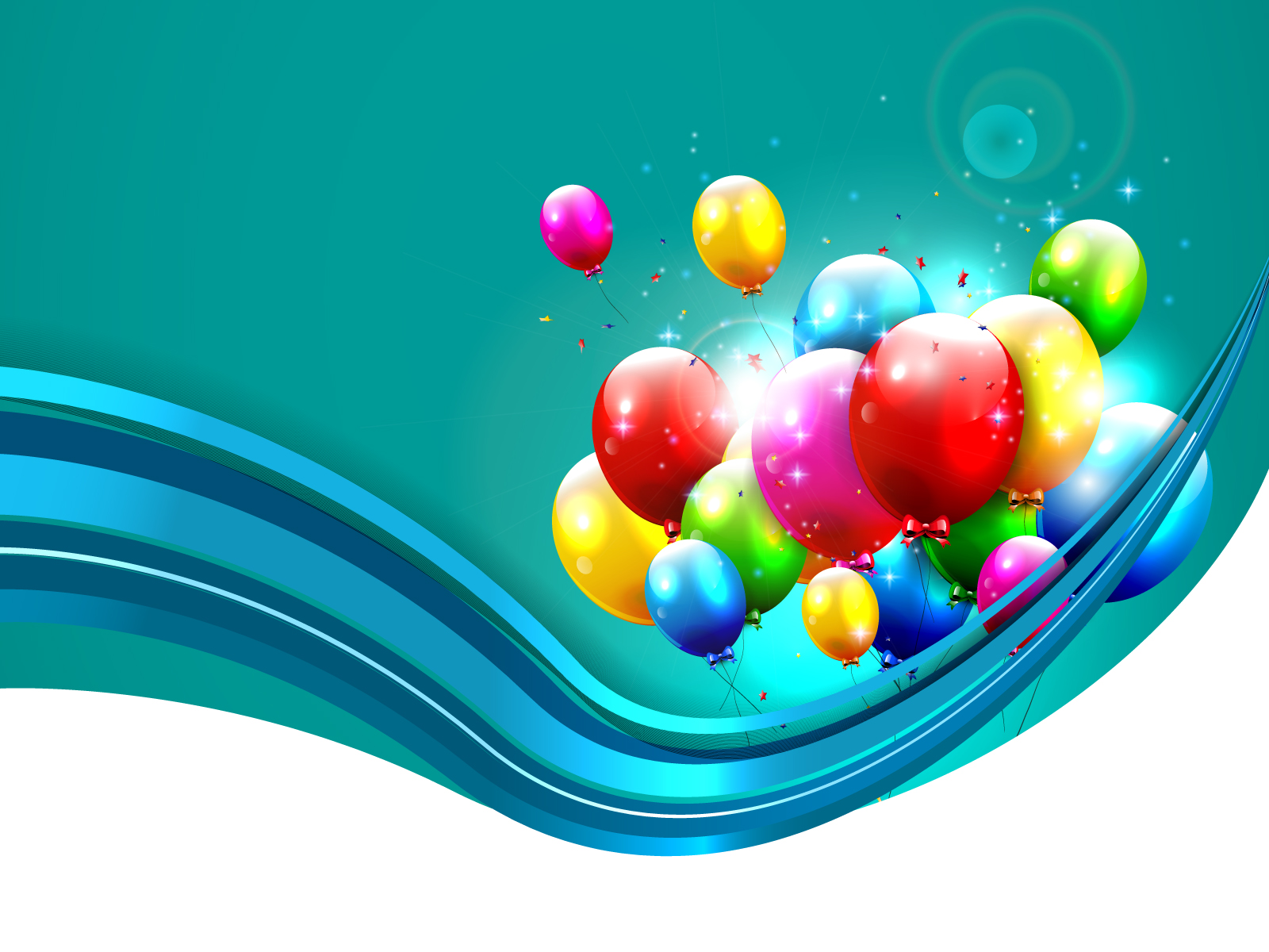 3d Design House Happy Birthdays Backgrounds Holiday Templates Free Ppt