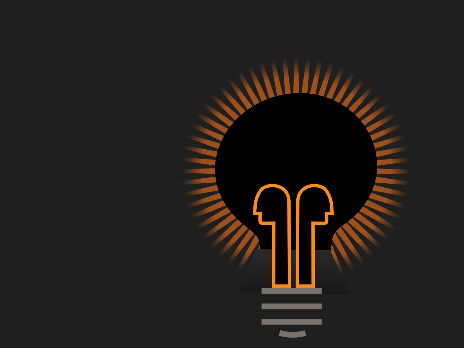 Light Bulb in Dark Backgrounds - Engineering, Technology - PPT ...