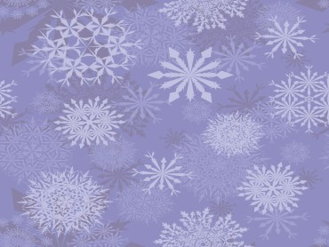 Light Purple Snowflakes