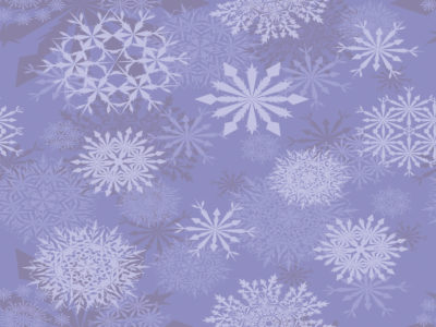 Light Purple Snowflakes Backgrounds