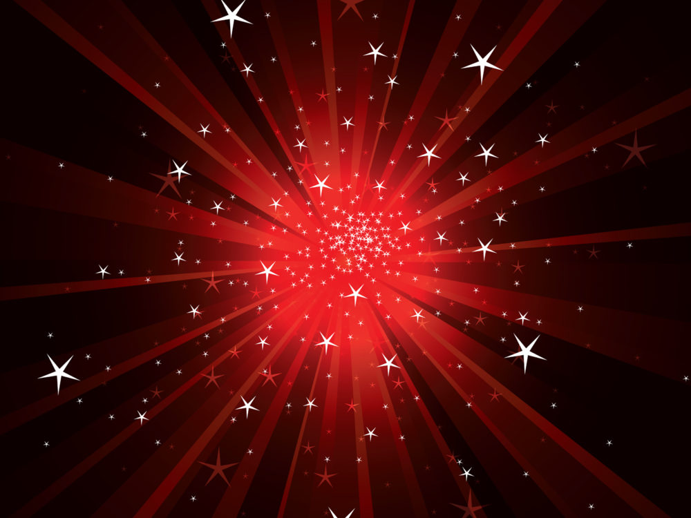 Light rays with sparkles backgrounds abstract black