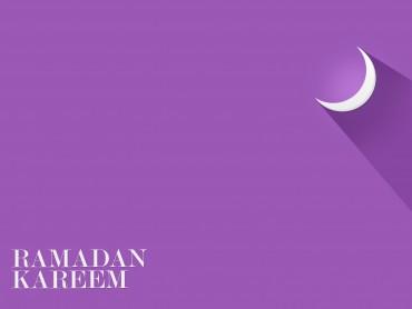 Ramadan Kareem on Purple