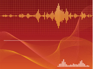 Stereo technology ppt backgrounds