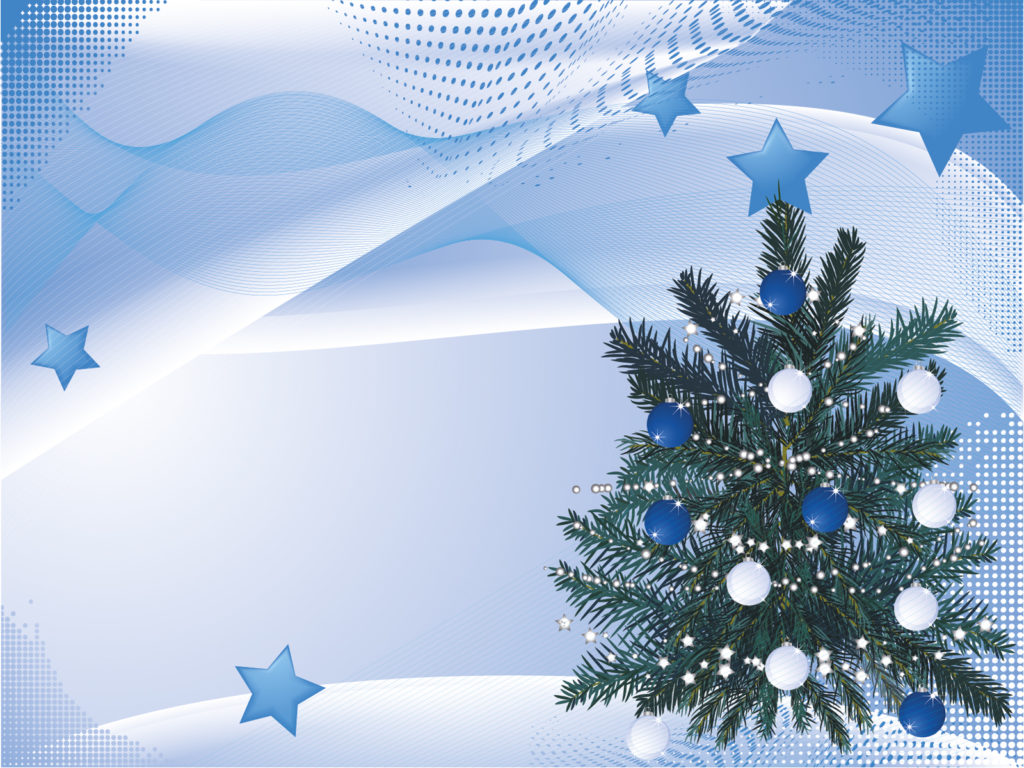 Tree christmas backgrounds christmas templates free for Free christmas powerpoint templates