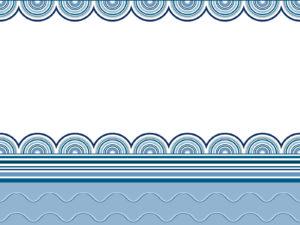 Wavy border frames ppt backgrounds