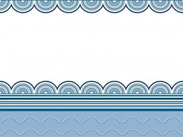 Wavy border frames