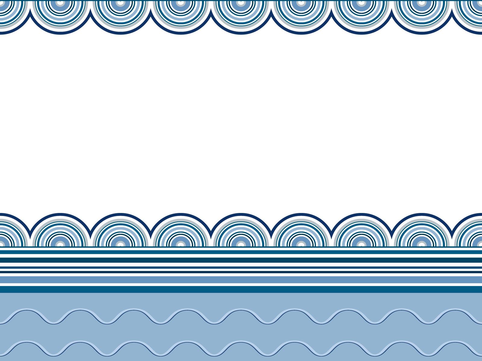 Wavy border frames Backgrounds | Blue, Border & Frames, Navy ...