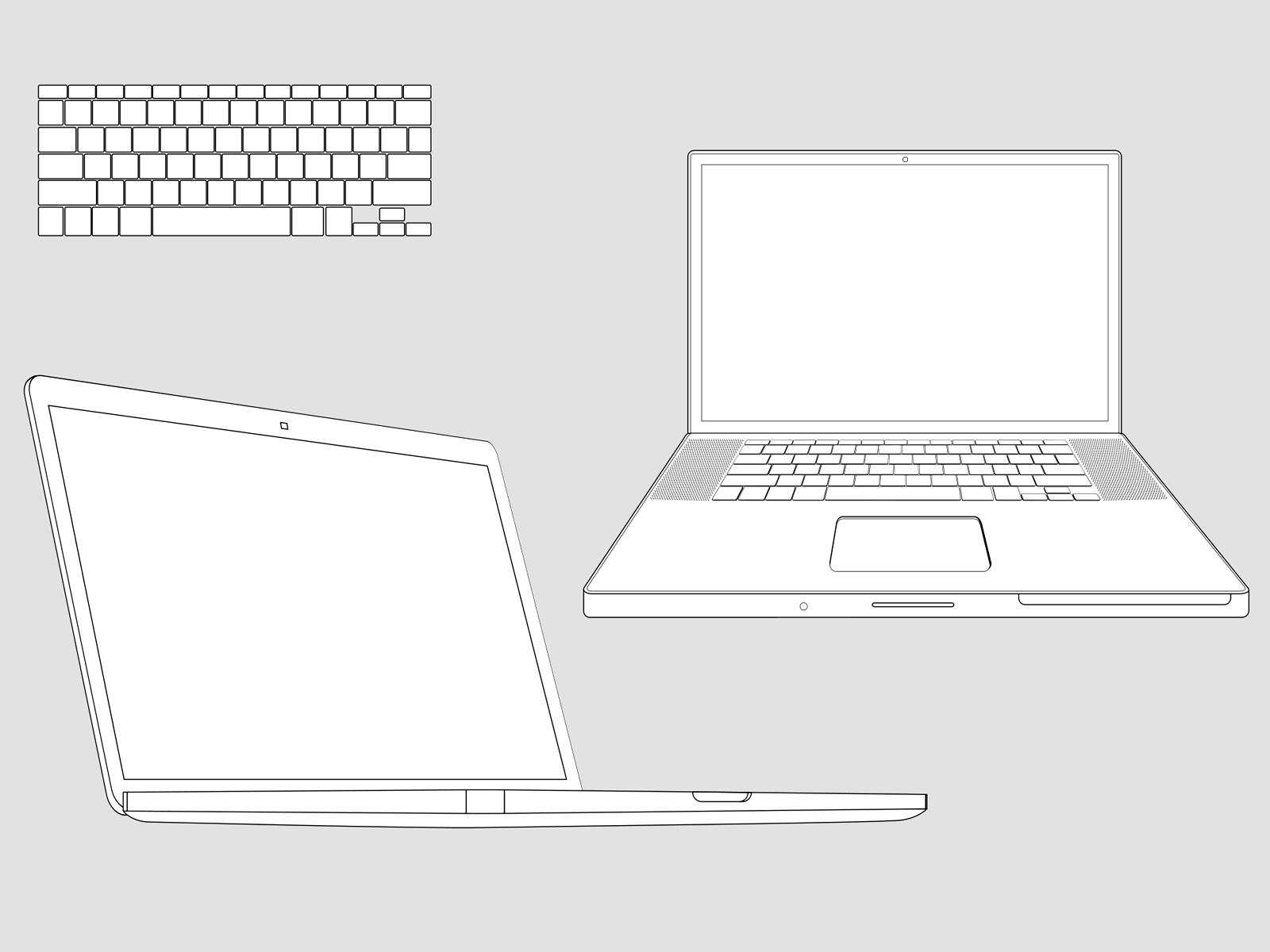 Apple Macbook Powerpoint Templates