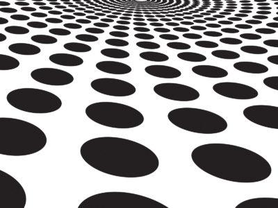 Black circles blast powerpoint templates