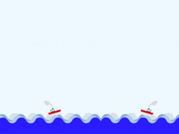 Boat at Blue Sea