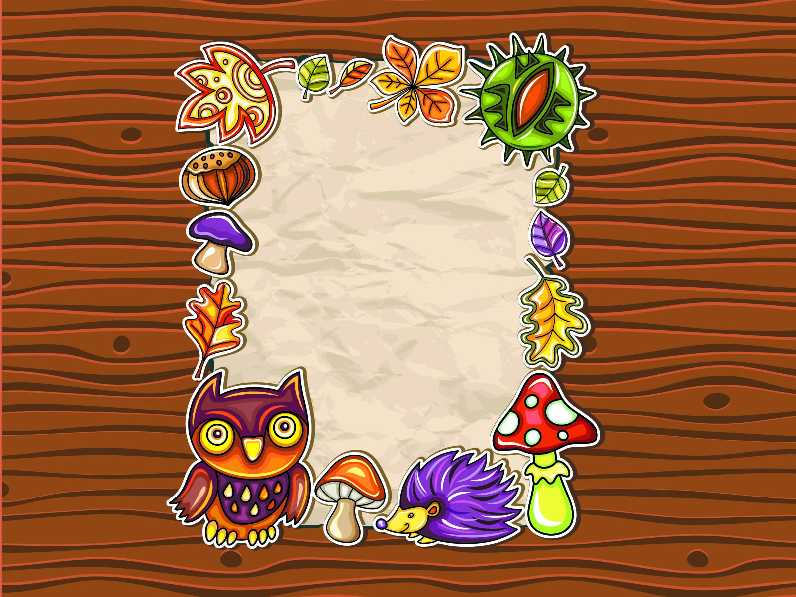 Cartoon Picture Frame Backgrounds
