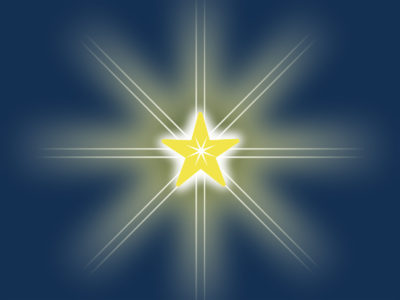 Design Christmas Star Cards Backgrounds