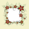 Flower Design Card Powerpoint Template