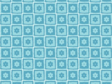 Flower Squares Pattern