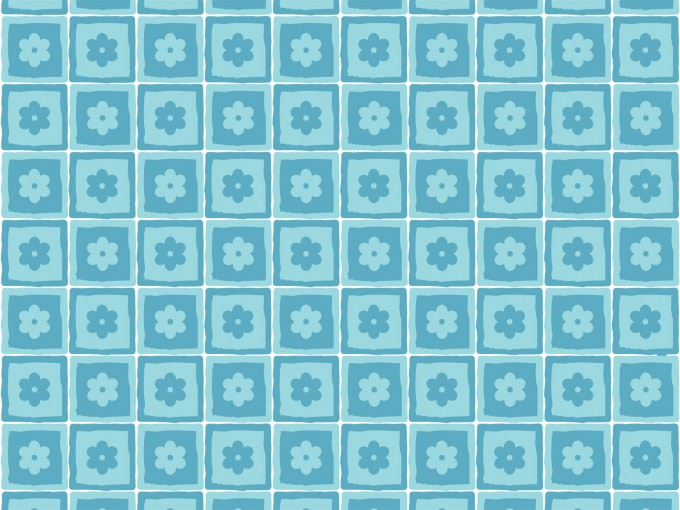Flower Squares Pattern PPT Backgrounds
