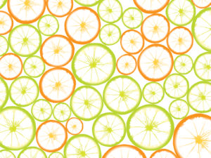 Fruit Slices Powerpoint Template