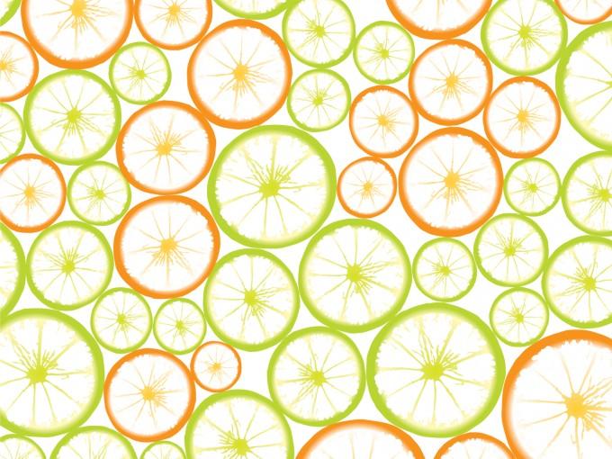 Fruit Slices PPT Backgrounds