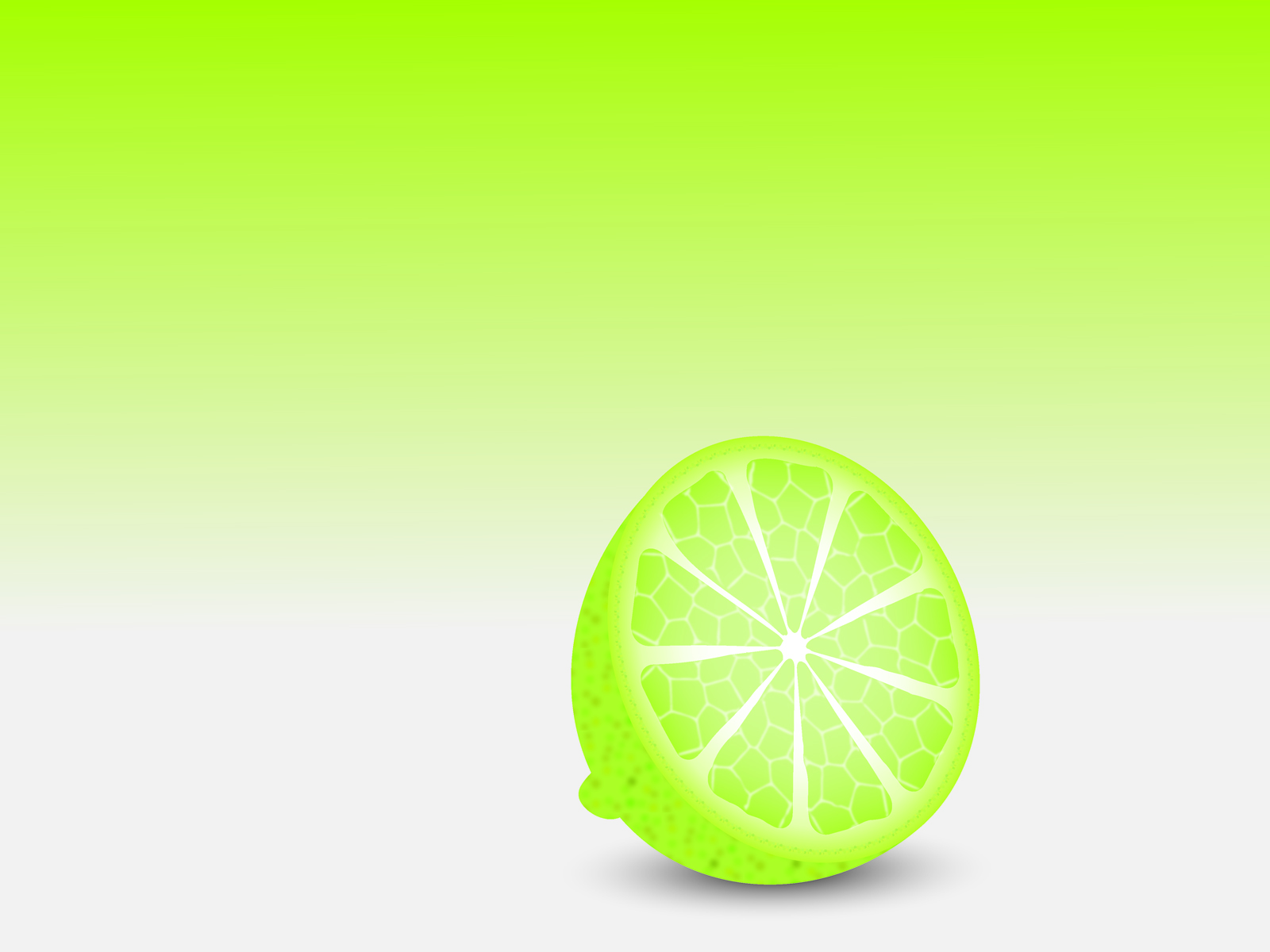 Green Lemon powerpoint backgrounds