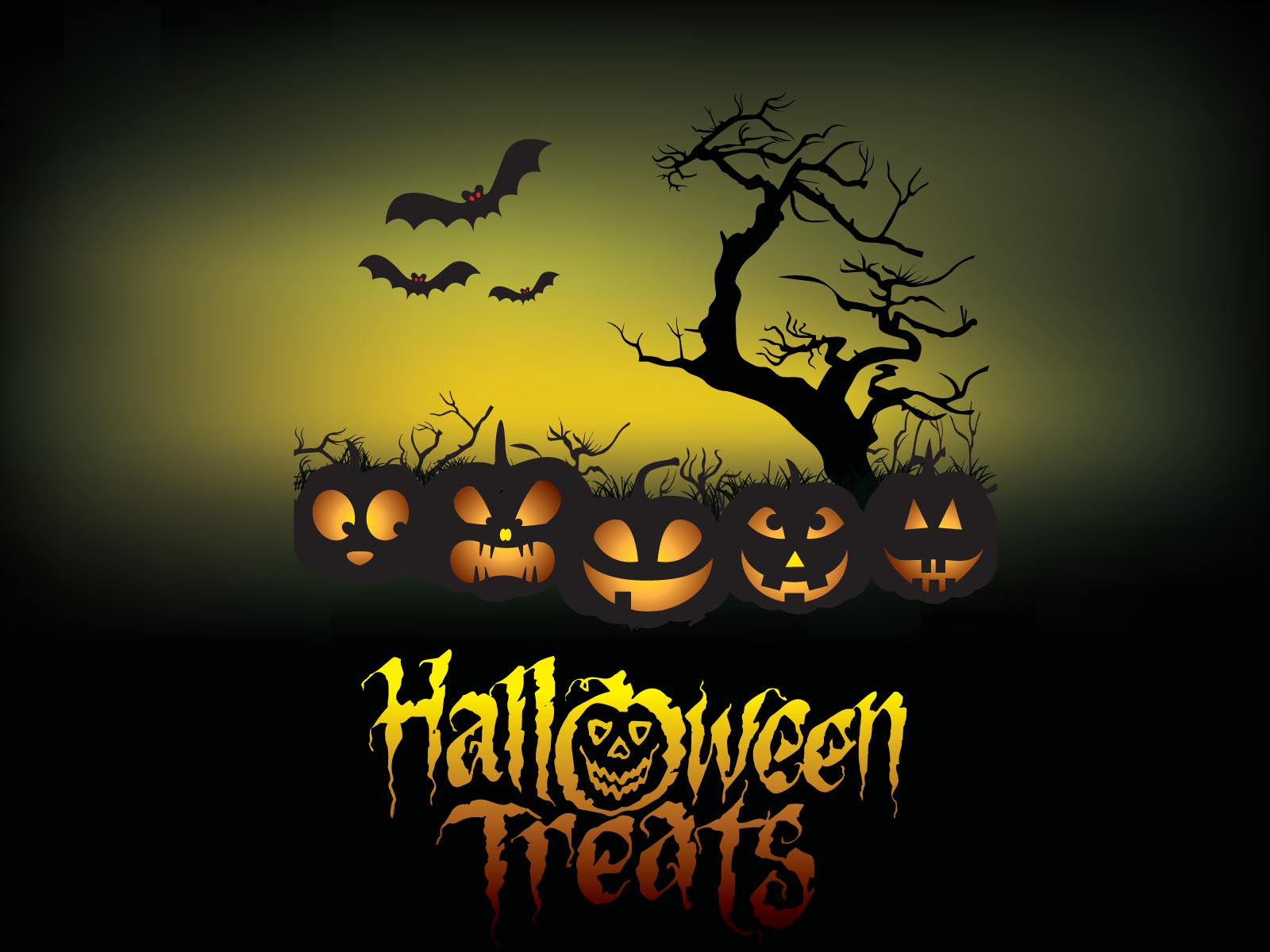 Halloween Treats poster backgrounds