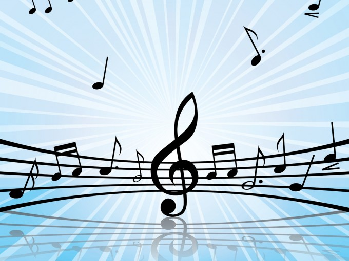 Music Melody Art PPT Backgrounds