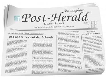 News Paper Post
