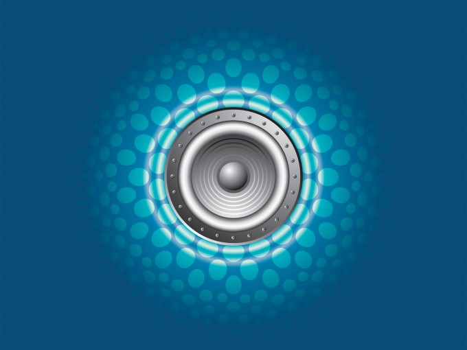Pure Sound Cover PPT Backgrounds