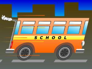 School Bus Transportation Backgrounds