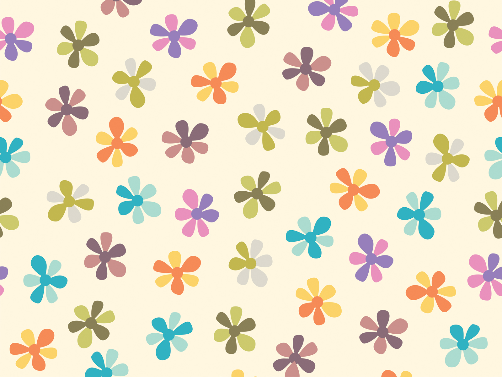 Flower patterns backgrounds