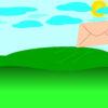 Transportation Flying Letter Backgrounds
