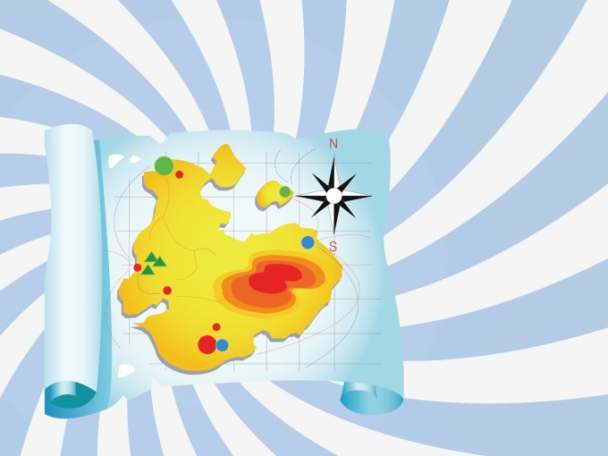 Travel Maps PPT Backgrounds