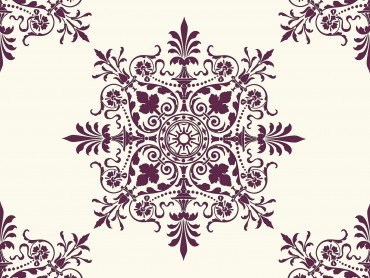 Victorian Background Ornaments
