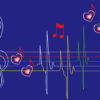 Abstract Musical Notes Backgrounds