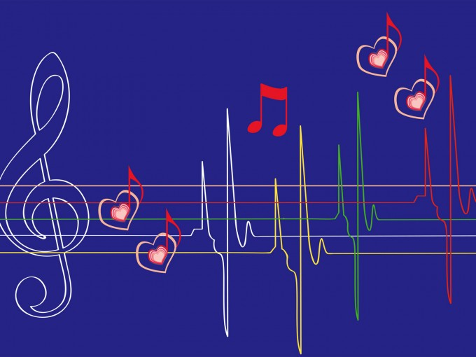 Abstract Musical Notes PPT Backgrounds
