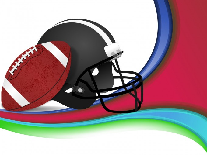 American Football Design PPT Backgrounds