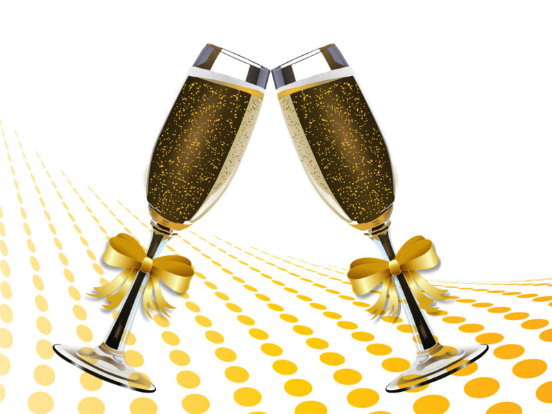 Champagne Glass Backgrounds