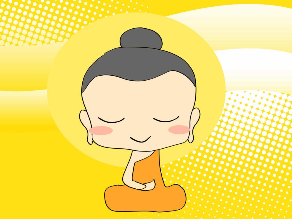 Chibi Buddha Religion Backgrounds