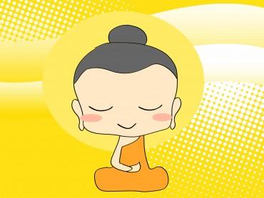 Chibi Buddha Religion