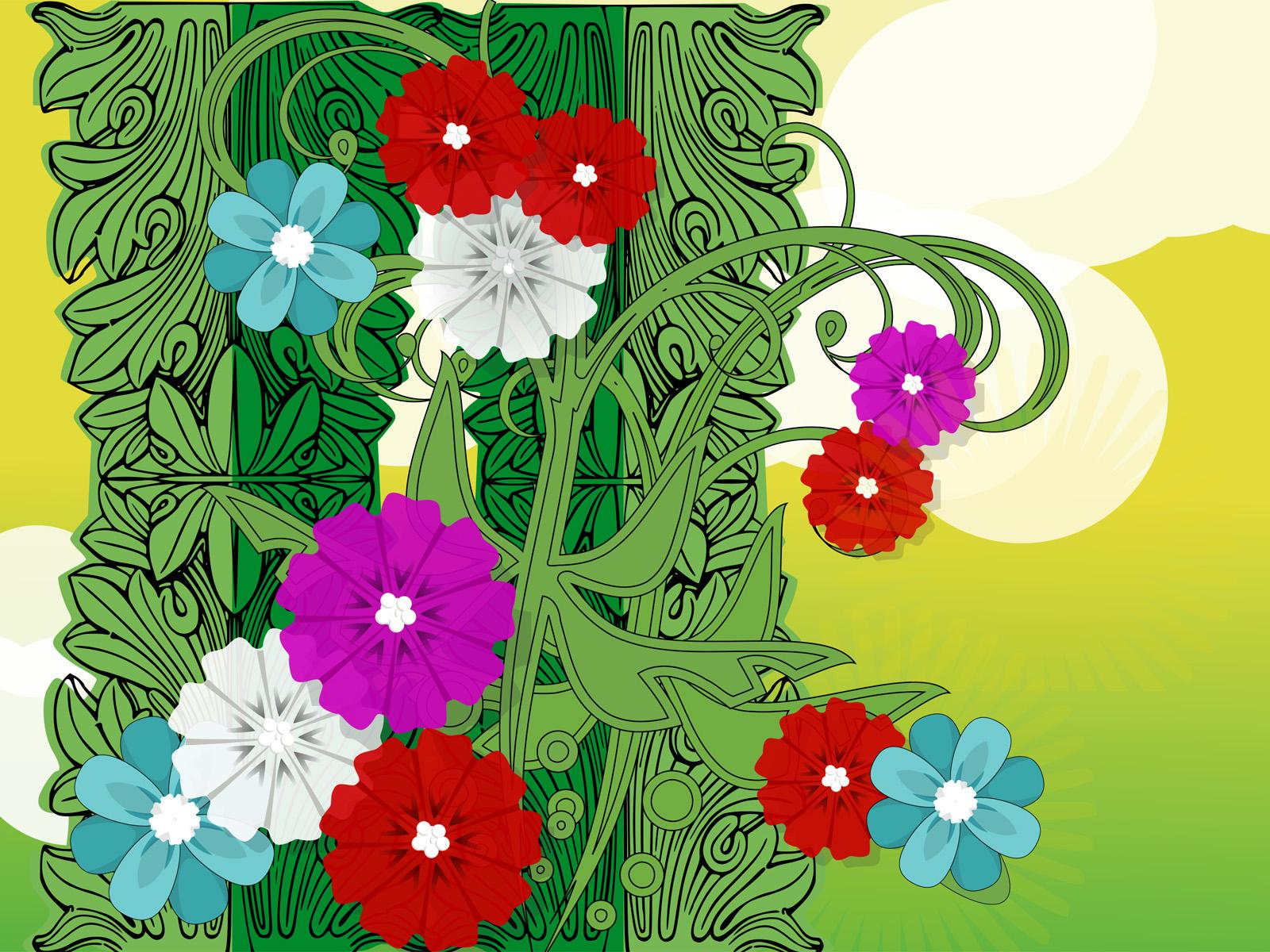 Flowers Spring Powerpoint Design