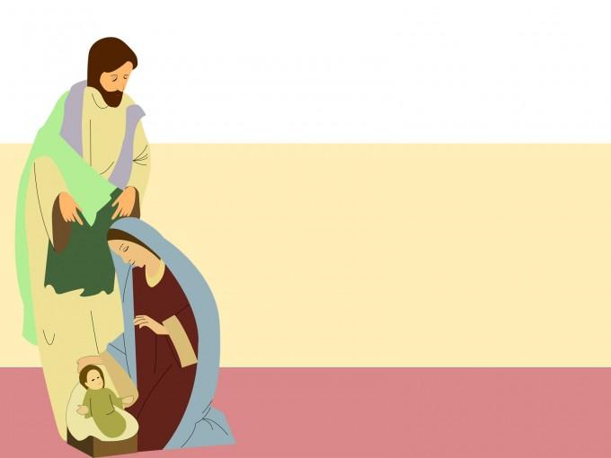 Nativity Design PPT Backgrounds