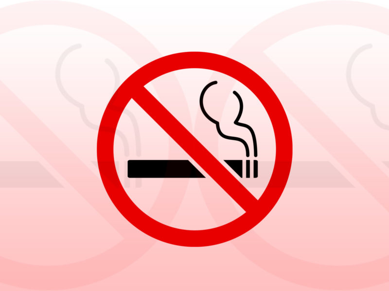 No Smoking Sign PPT Backgrounds