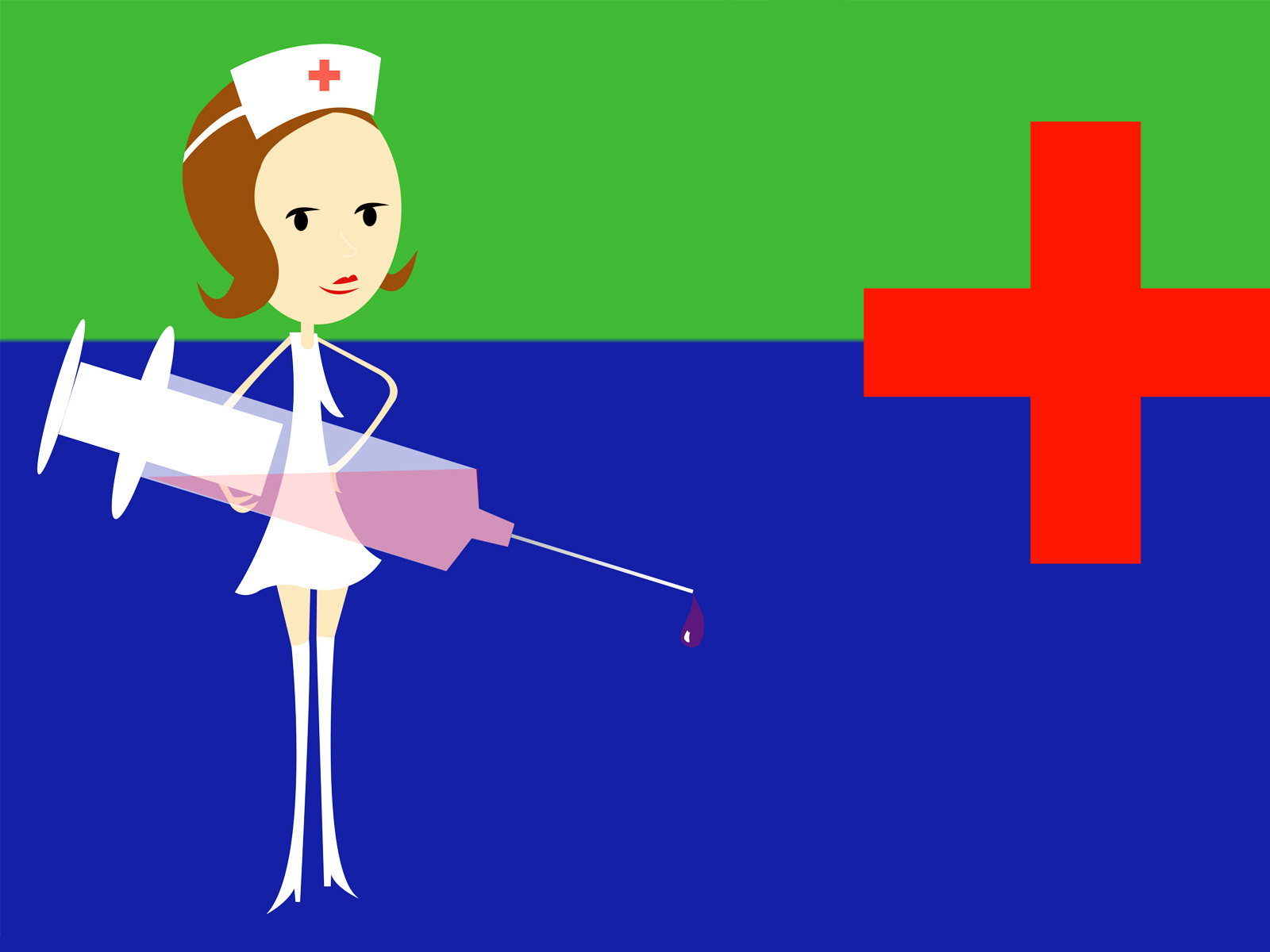 Nurses Wallpaper Design :