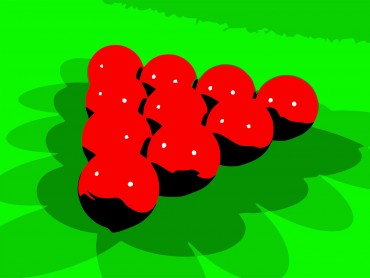 Red Snookers Billiards Game