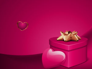 Valentine Days for Wedding PPT Backgrounds