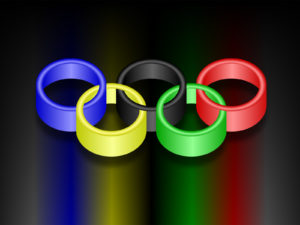 World Olympic Rings Powerpoint Template